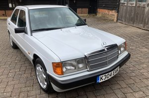 1992 MERCEDES-BENZ 190 E For Sale by Auction