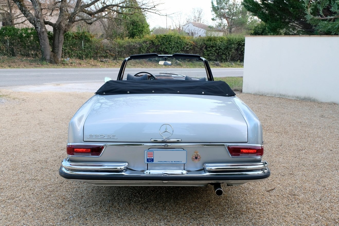 1963 Mercedes 220SE For Sale (picture 6 of 6)