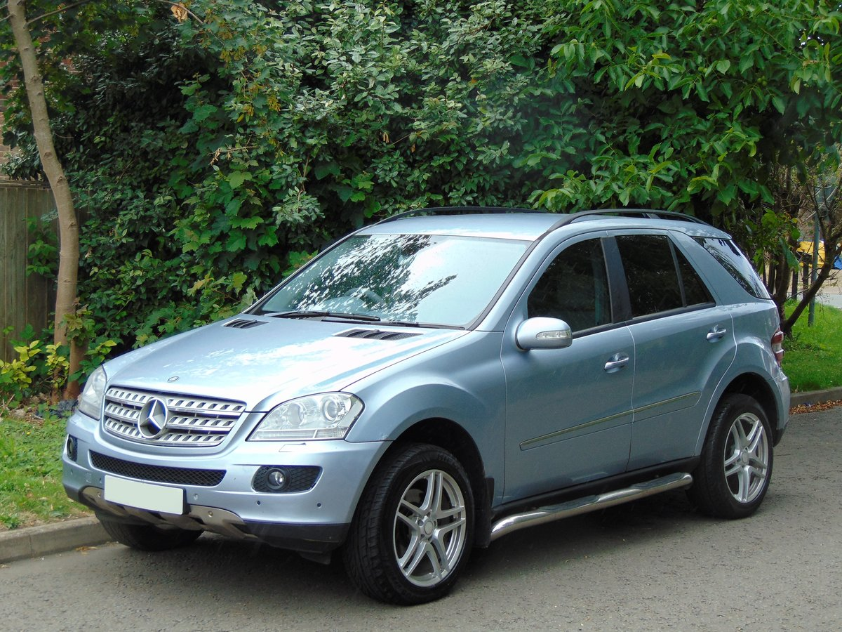 2006 Mercedes ML280 CDi Sport.. New Shape.. FSH.. Bargain.. SOLD (picture 1 of 6)