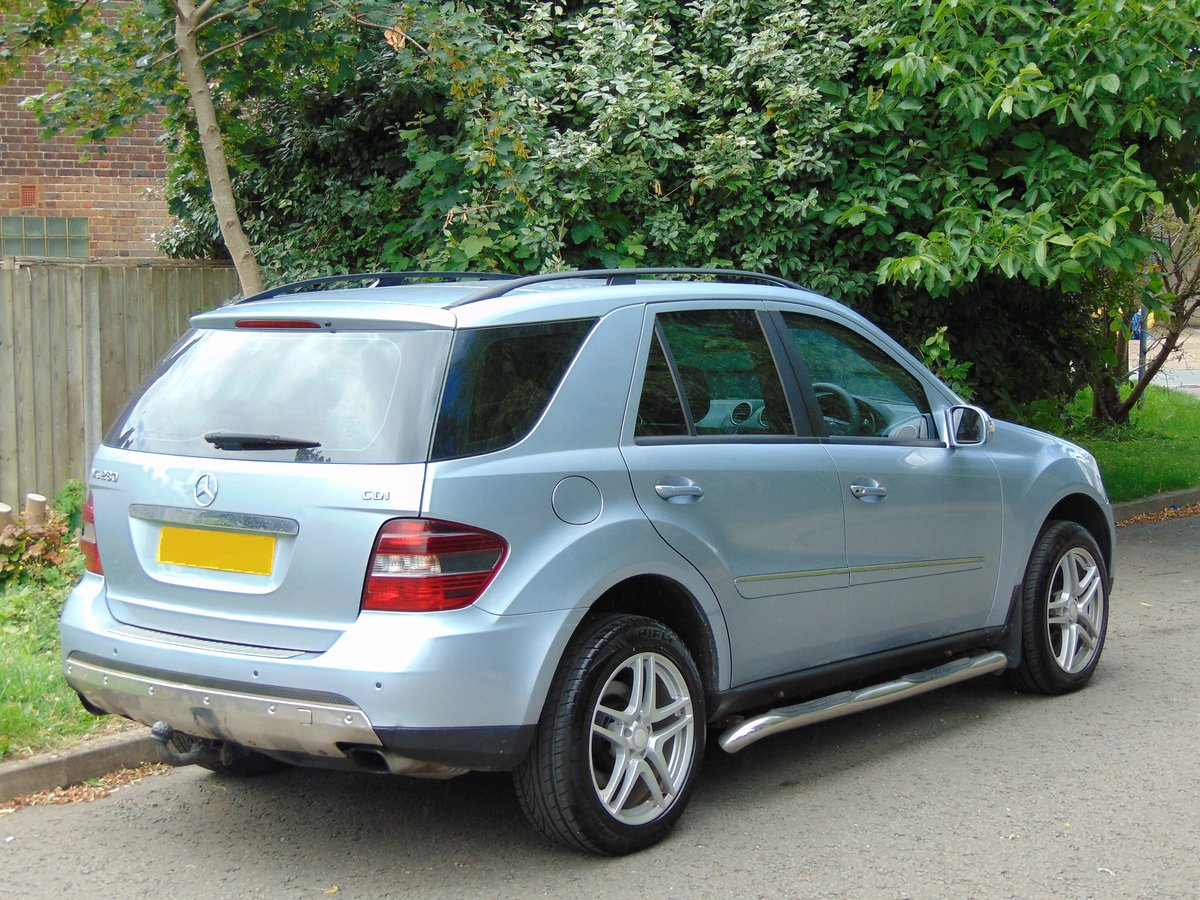 2006 Mercedes ML280 CDi Sport.. New Shape.. FSH.. Bargain.. SOLD (picture 6 of 6)
