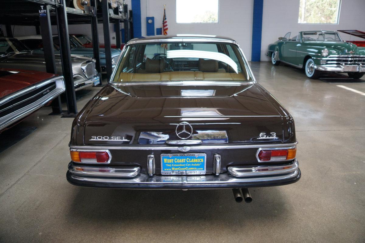 1971 Mercedes Benz 300SEL 6.3 V8 Sedan For Sale (picture 4 of 6)