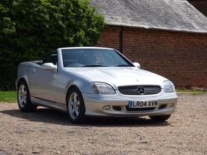 2004 Mercedes SLK 320 V6, 83k FSH, VGC