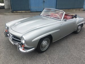 1957 Mercedes 190SL in NEW condition- Unique!