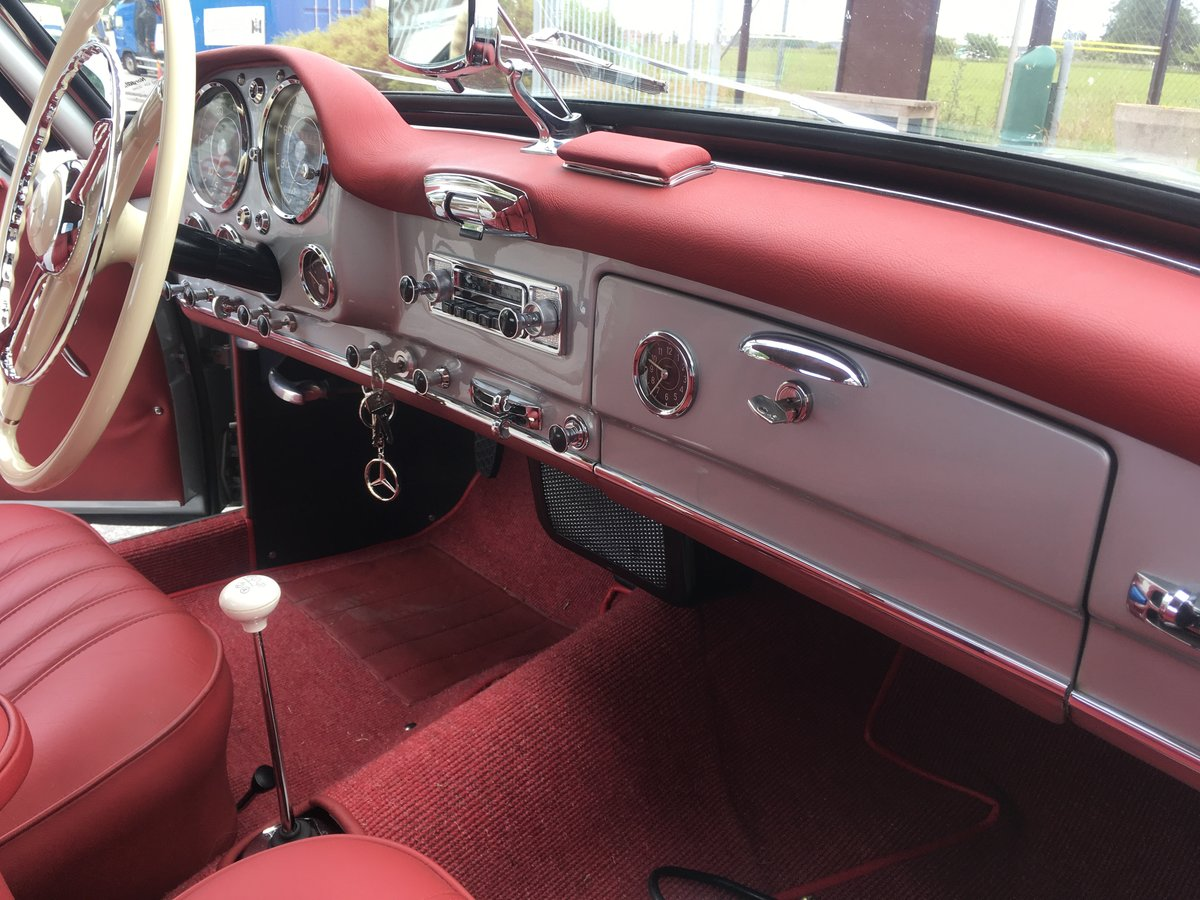 1957 Mercedes 190SL in NEW condition- Unique! For Sale (picture 4 of 6)