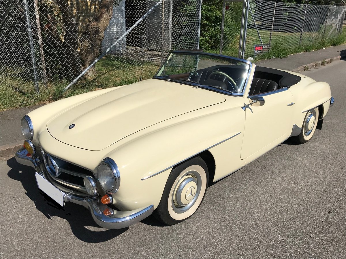 1958 Mercedes190SL Totally restored excellent condition For Sale (picture 1 of 6)