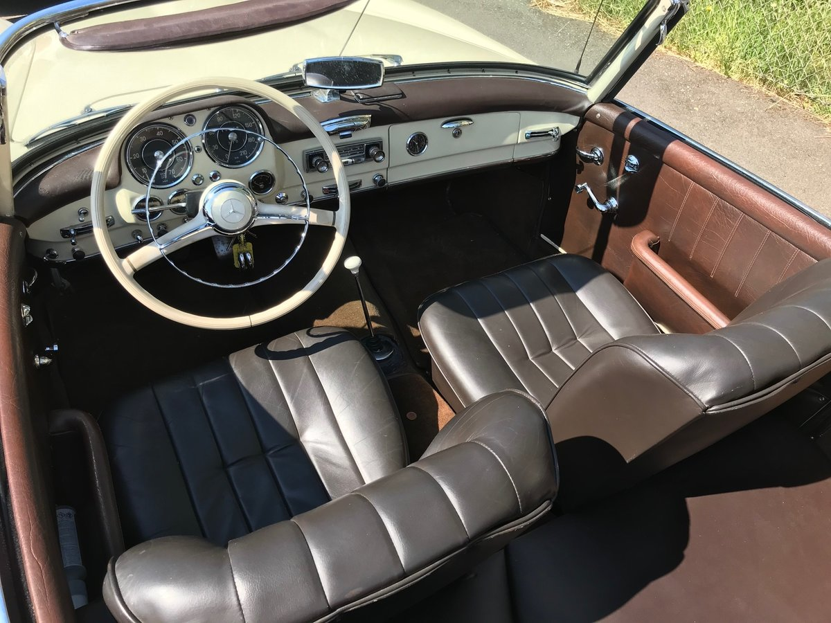 1958 Mercedes190SL Totally restored excellent condition For Sale (picture 3 of 6)