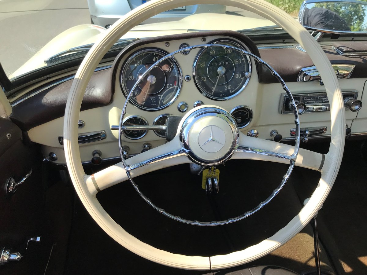 1958 Mercedes190SL Totally restored excellent condition For Sale (picture 5 of 6)