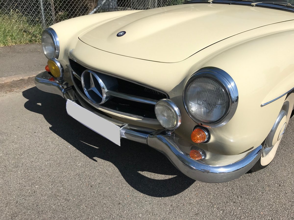1958 Mercedes190SL Totally restored excellent condition For Sale (picture 6 of 6)