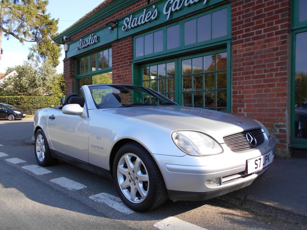 1999 Mercedes SLK 230 Convertible Automatic  SOLD (picture 2 of 4)