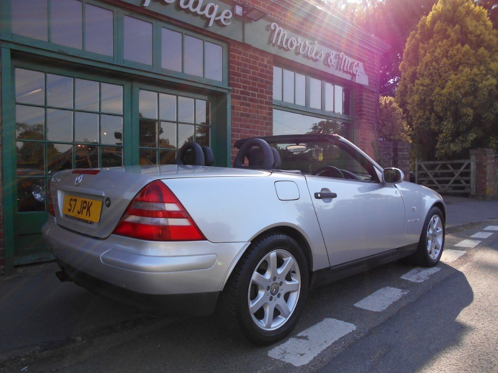 1999 Mercedes SLK 230 Convertible Automatic  SOLD (picture 3 of 4)