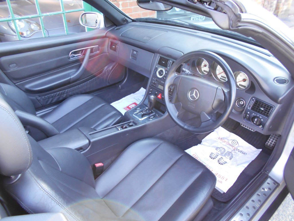 1999 Mercedes SLK 230 Convertible Automatic  SOLD (picture 4 of 4)