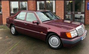 Mercedes 230E auto, 1992, low mileage, FSH, MOT