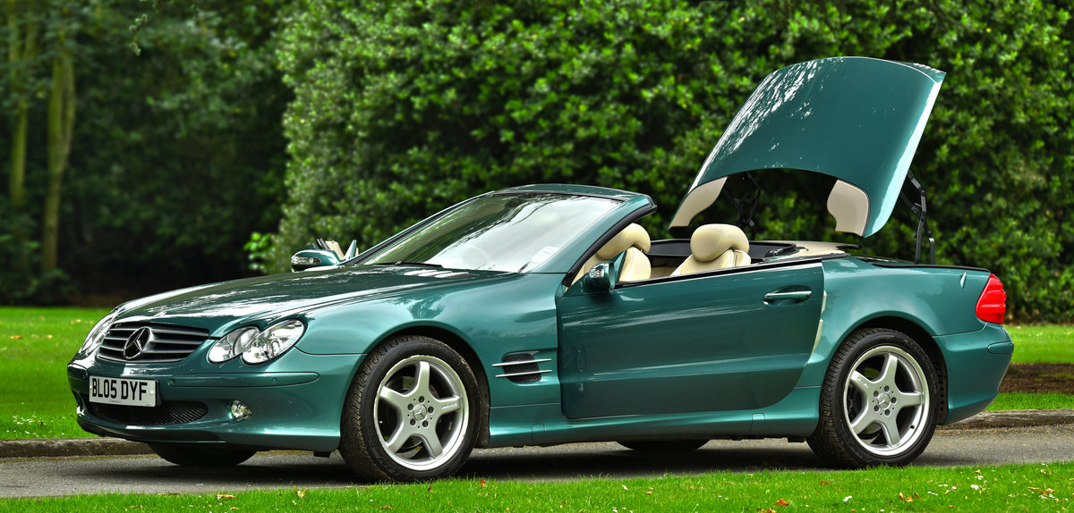 2005 Mercedes-Benz SL 350 2dr Convertible For Sale (picture 1 of 6)