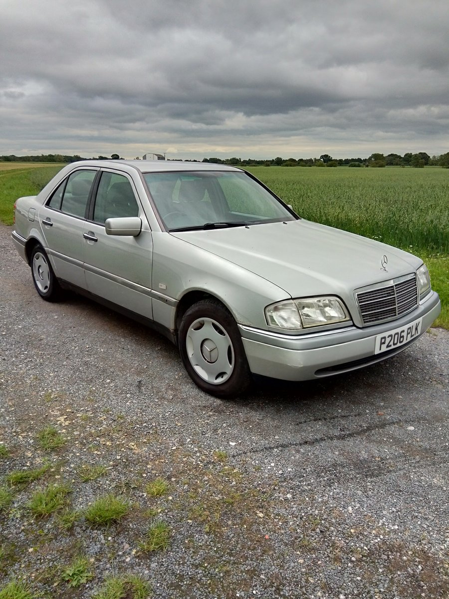 C 180 Mercedes 1997 SOLD (picture 1 of 6)
