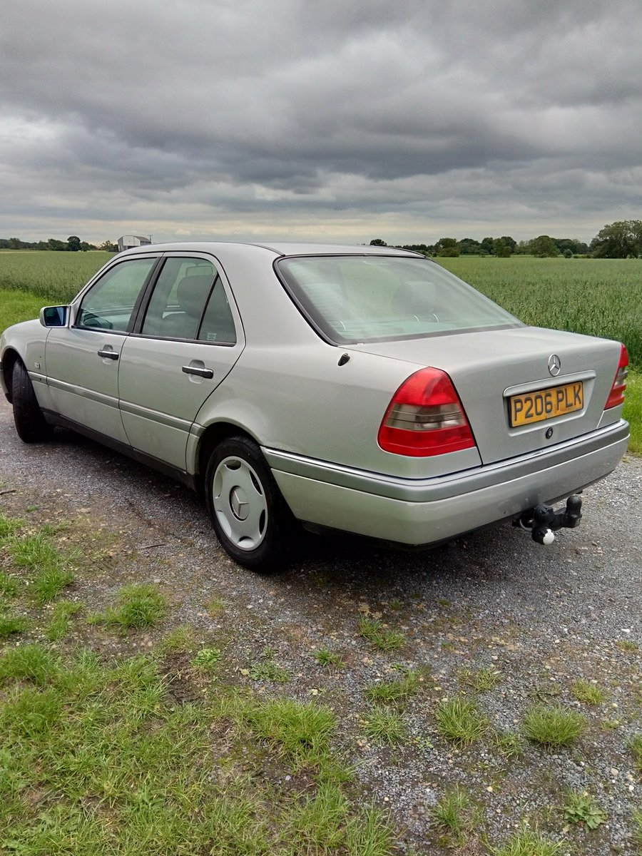 C 180 Mercedes 1997 SOLD (picture 3 of 6)