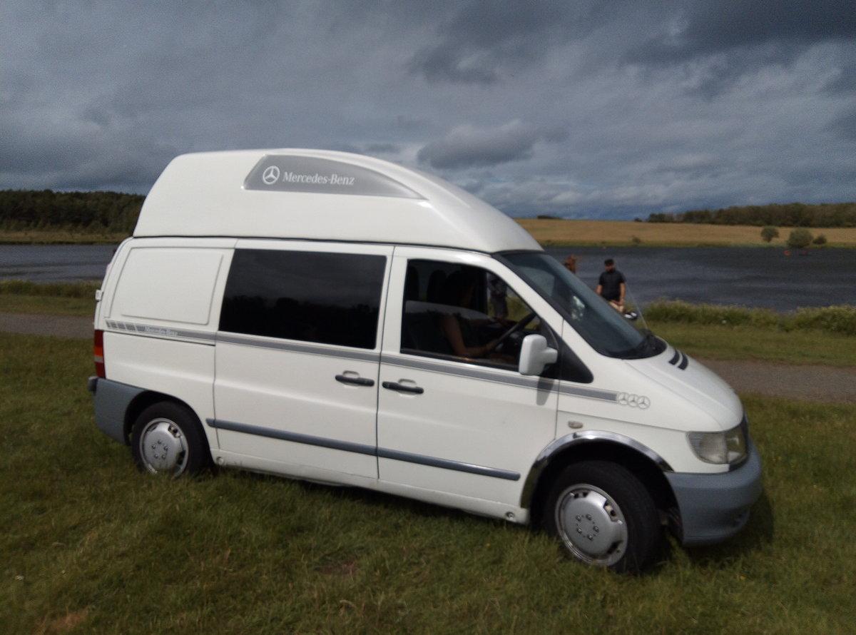 2002 Camper van For Sale (picture 1 of 6)