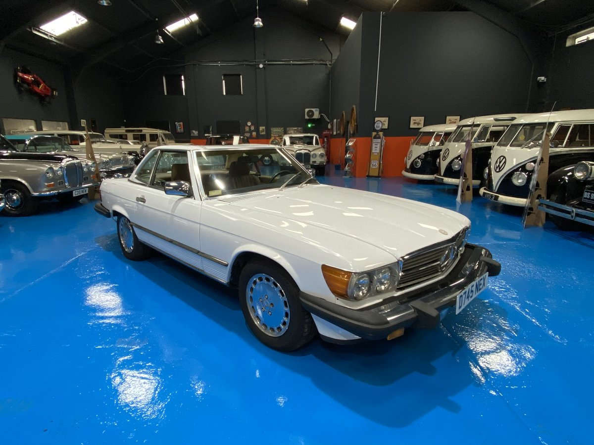 1987 1986 Mercedes 560SL sports convertible *immaculate* For Sale (picture 1 of 6)