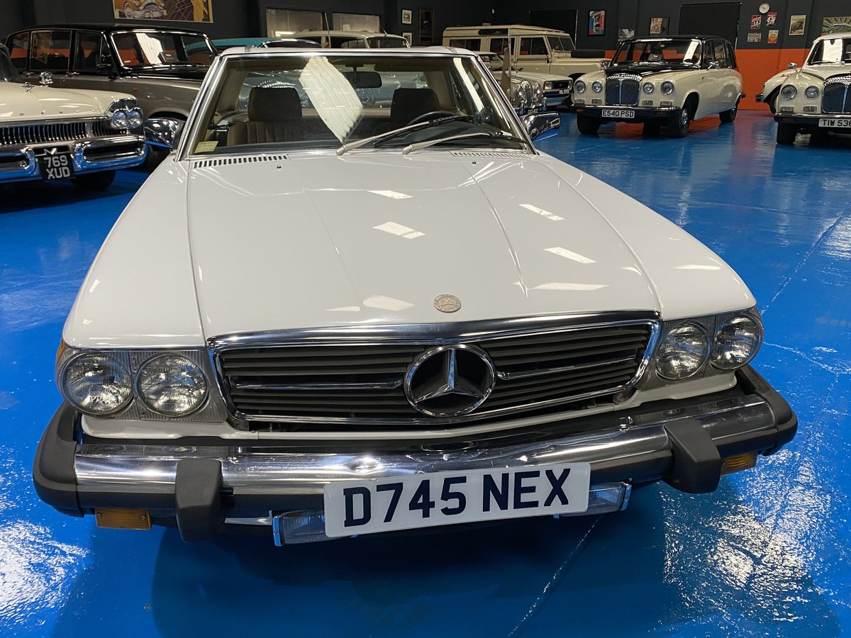 1987 1986 Mercedes 560SL sports convertible *immaculate* For Sale (picture 2 of 6)