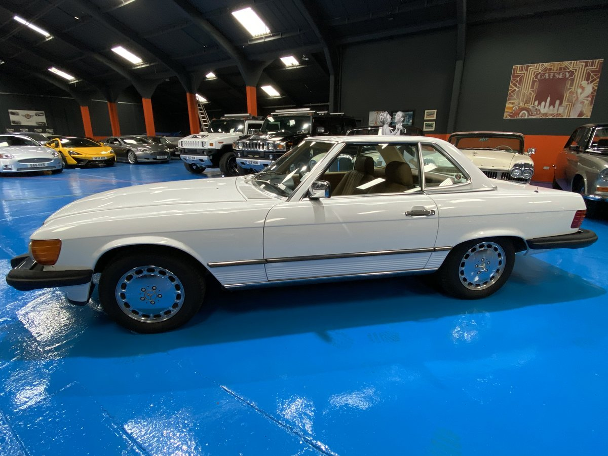 1987 1986 Mercedes 560SL sports convertible *immaculate* For Sale (picture 3 of 6)