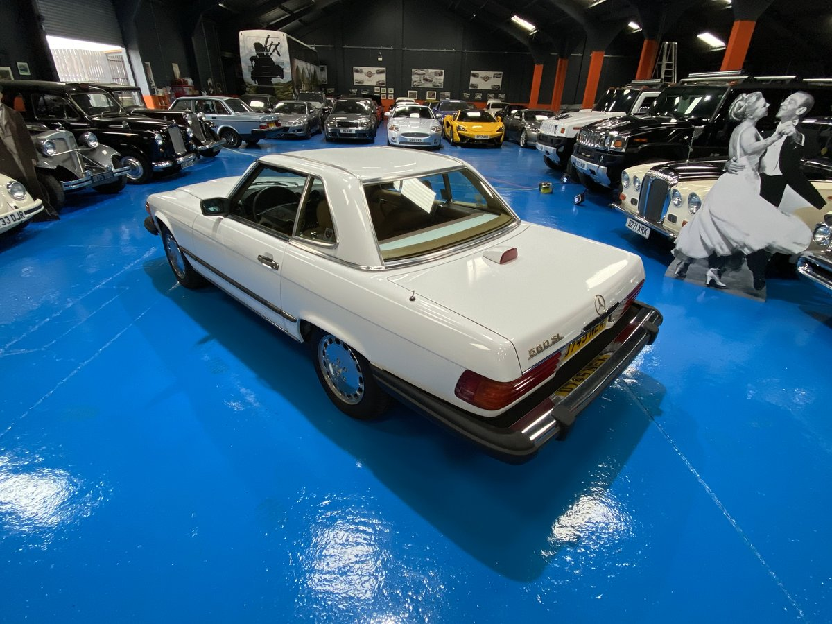 1987 1986 Mercedes 560SL sports convertible *immaculate* For Sale (picture 4 of 6)