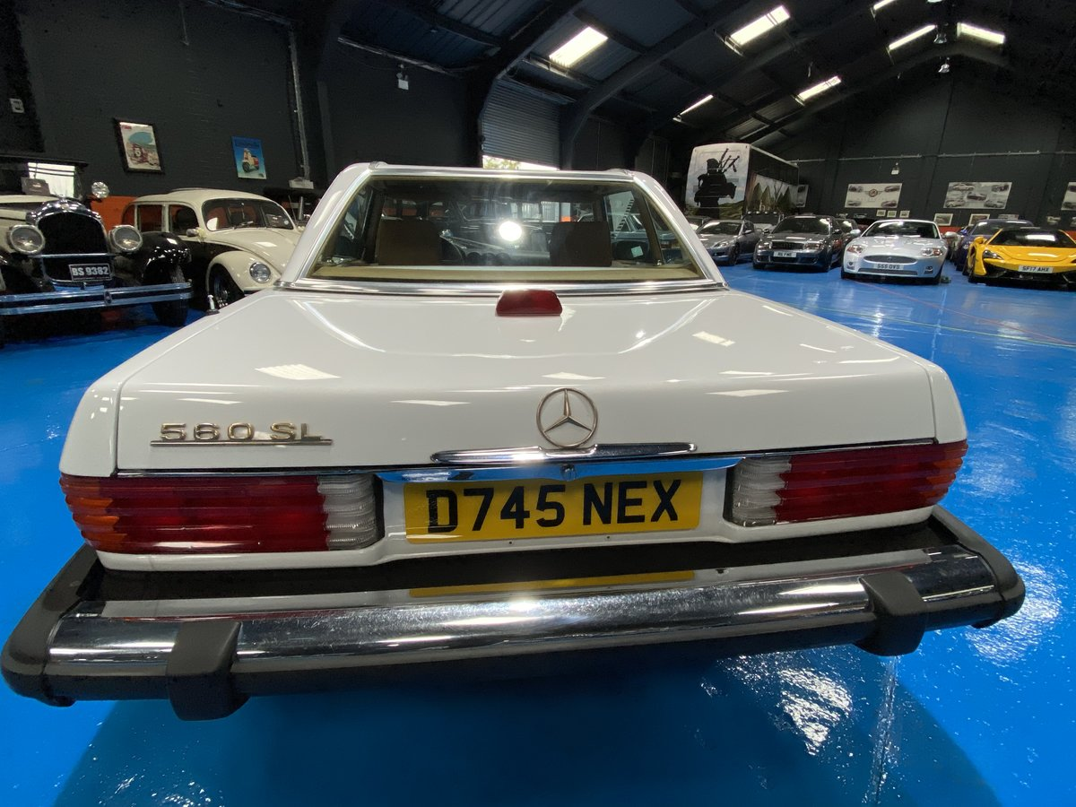 1987 1986 Mercedes 560SL sports convertible *immaculate* For Sale (picture 6 of 6)