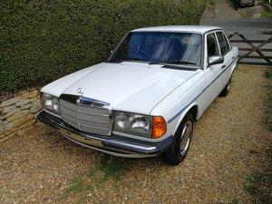1984 Mercedes 240D  For Sale