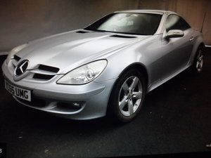 SLK 3LTR AUTO V/6 PETROL  SMOOTH AS SILK WITH LEATHER 47 MIL
