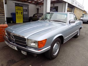 1979 Mercedes 350SL Sports Convertible - Only 67K miles from new!