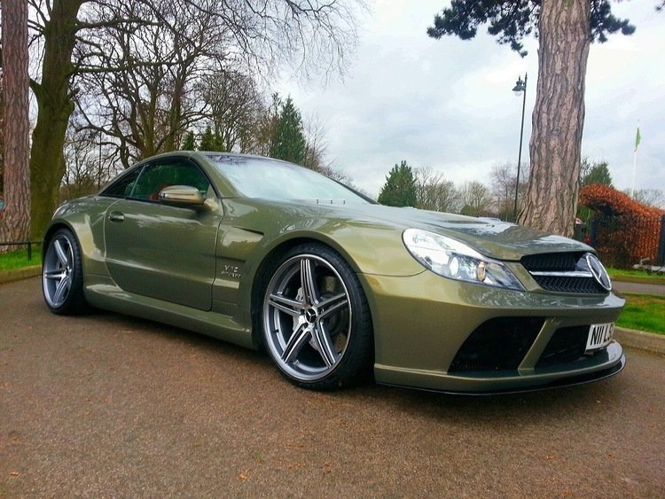 2003 SL55 AMG (Black Series Conversion) For Sale (picture 1 of 6)
