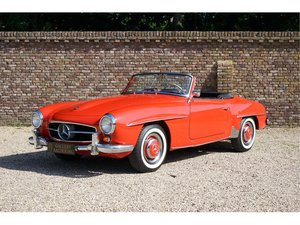 Mercedes-Benz 190SL Only 3.549 miles since restoration!