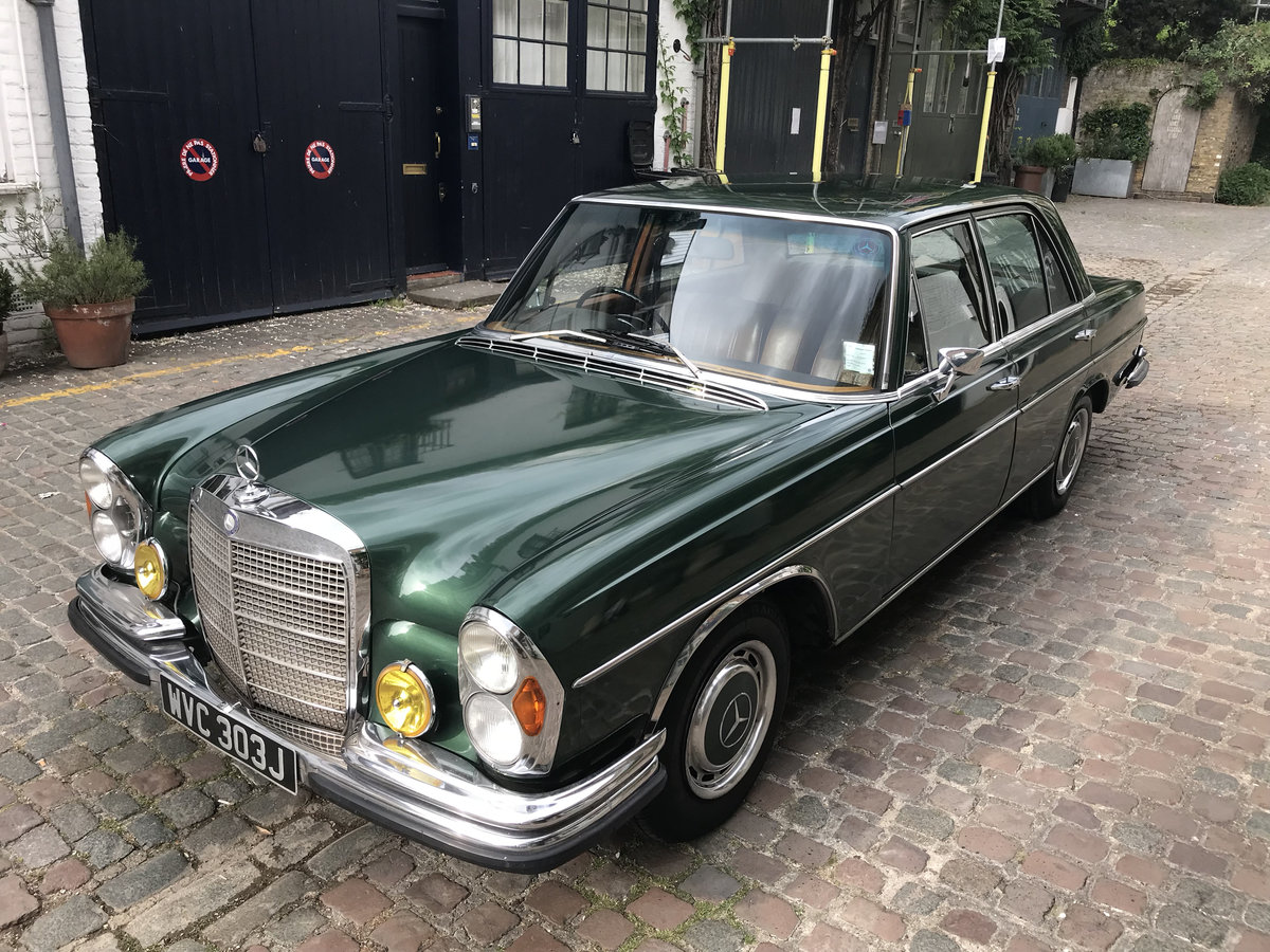 1971 Lovely old Mercedes 280SE For Sale (picture 1 of 6)