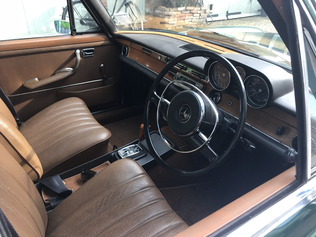 1971 Lovely old Mercedes 280SE For Sale (picture 5 of 6)