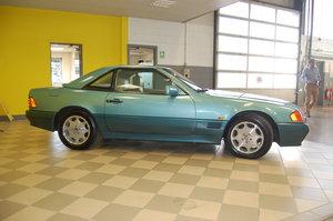 1994 Mercedes SL320  in Beryl Blue
