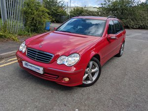 2008 Mercedes C180 Kompressor Avantgarde SE  '57' Reg, Estate