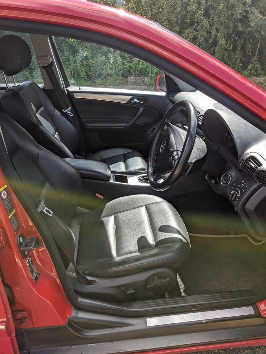 Mercedes C180 Kompressor Avantgarde SE 2008 '57' Reg, Estate For Sale (picture 3 of 6)