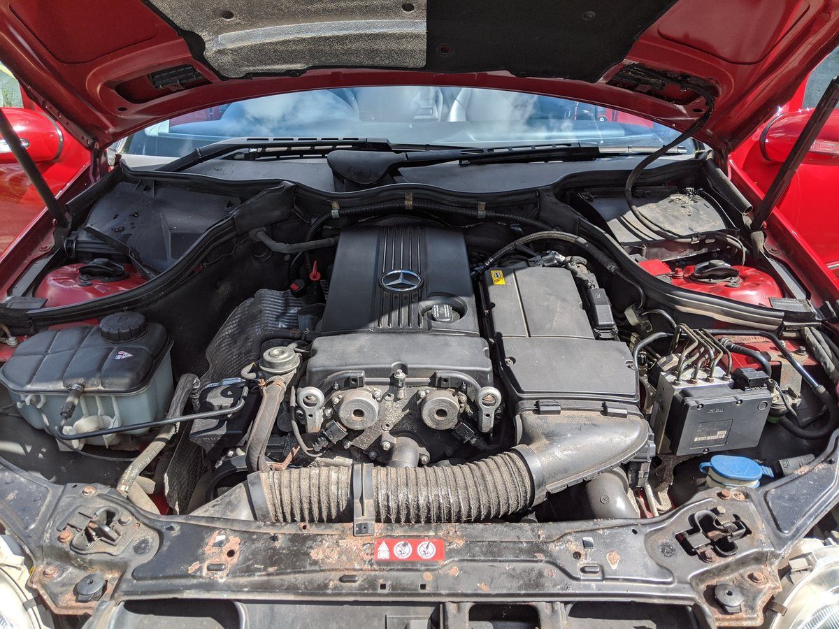 Mercedes C180 Kompressor Avantgarde SE 2008 '57' Reg, Estate For Sale (picture 5 of 6)