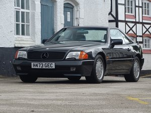 1991 Mercedes-Benz SL 500 For Sale by Auction