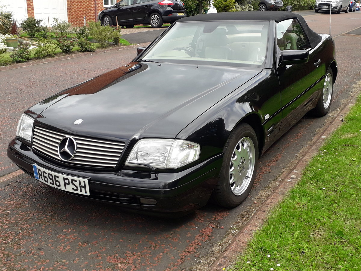 1998 Mercedes SL 280 with 12 months mot For Sale (picture 1 of 6)