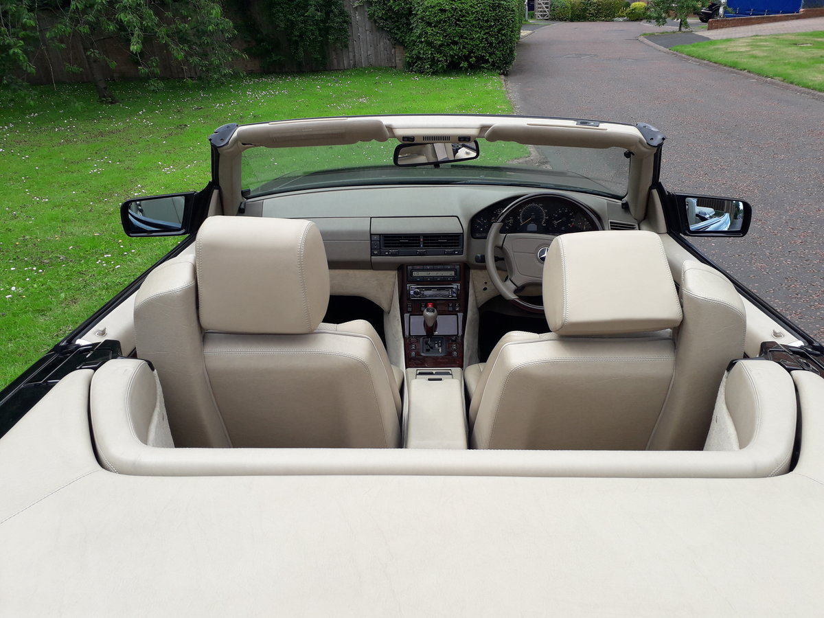 1998 Mercedes SL 280 with 12 months mot For Sale (picture 3 of 6)