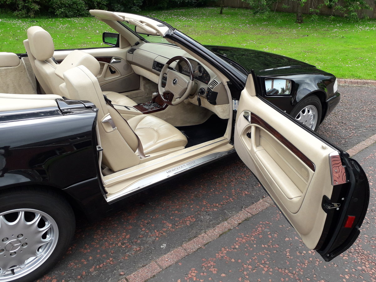 1998 Mercedes SL 280 with 12 months mot For Sale (picture 4 of 6)
