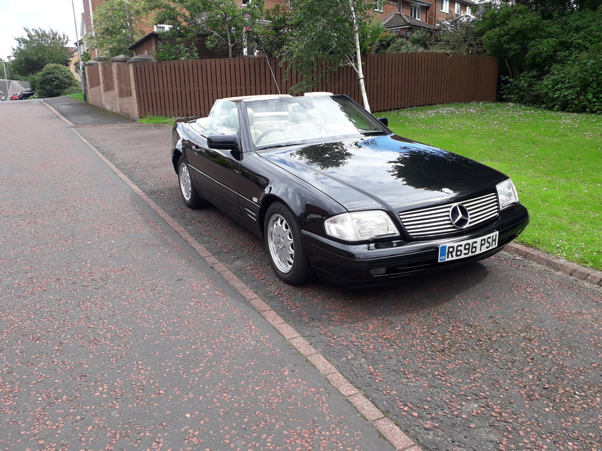 1998 Mercedes SL 280 with 12 months mot For Sale (picture 5 of 6)