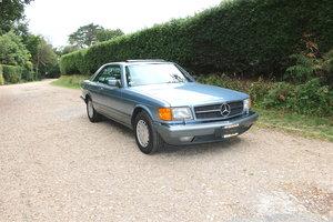 1987 Mercedes-Benz 560 SEC LHD