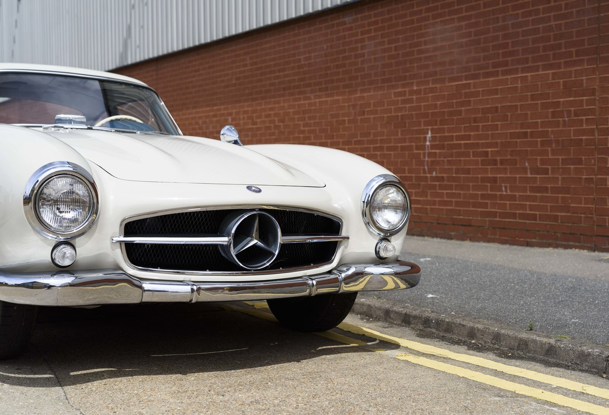 1954 Mercedes-Benz 300SL Gullwing (LHD) For Sale (picture 9 of 24)