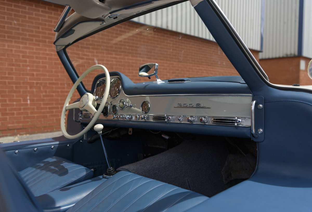 1954 Mercedes-Benz 300SL Gullwing (LHD) For Sale (picture 16 of 24)