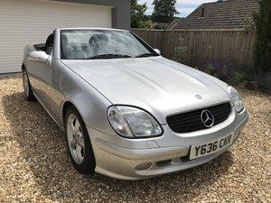 2001 Mercedes Benz SLK320, 3.2 V6, 218 BHP For Sale