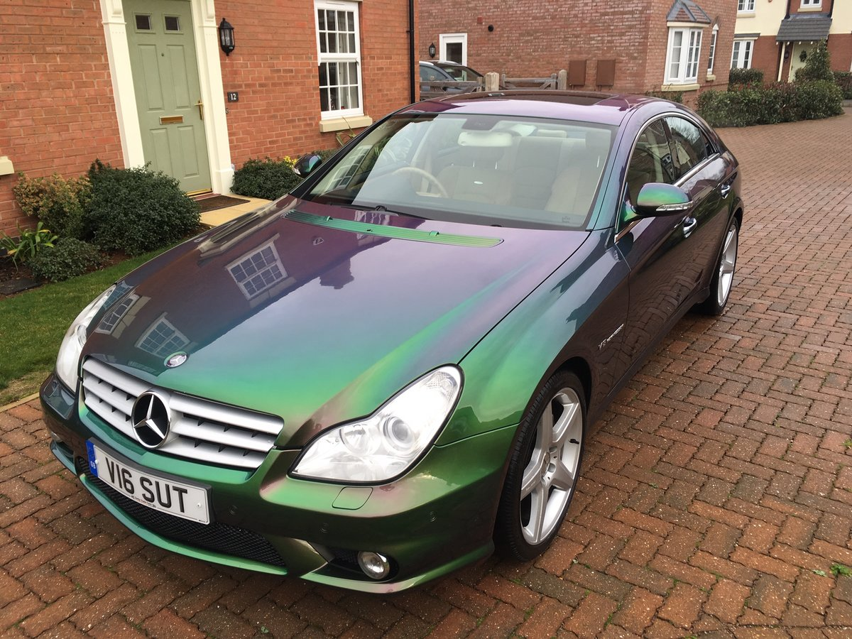 2006 Mercedes CLS 55 AMG V8 Supercharged 38k miles For Sale (picture 2 of 6)
