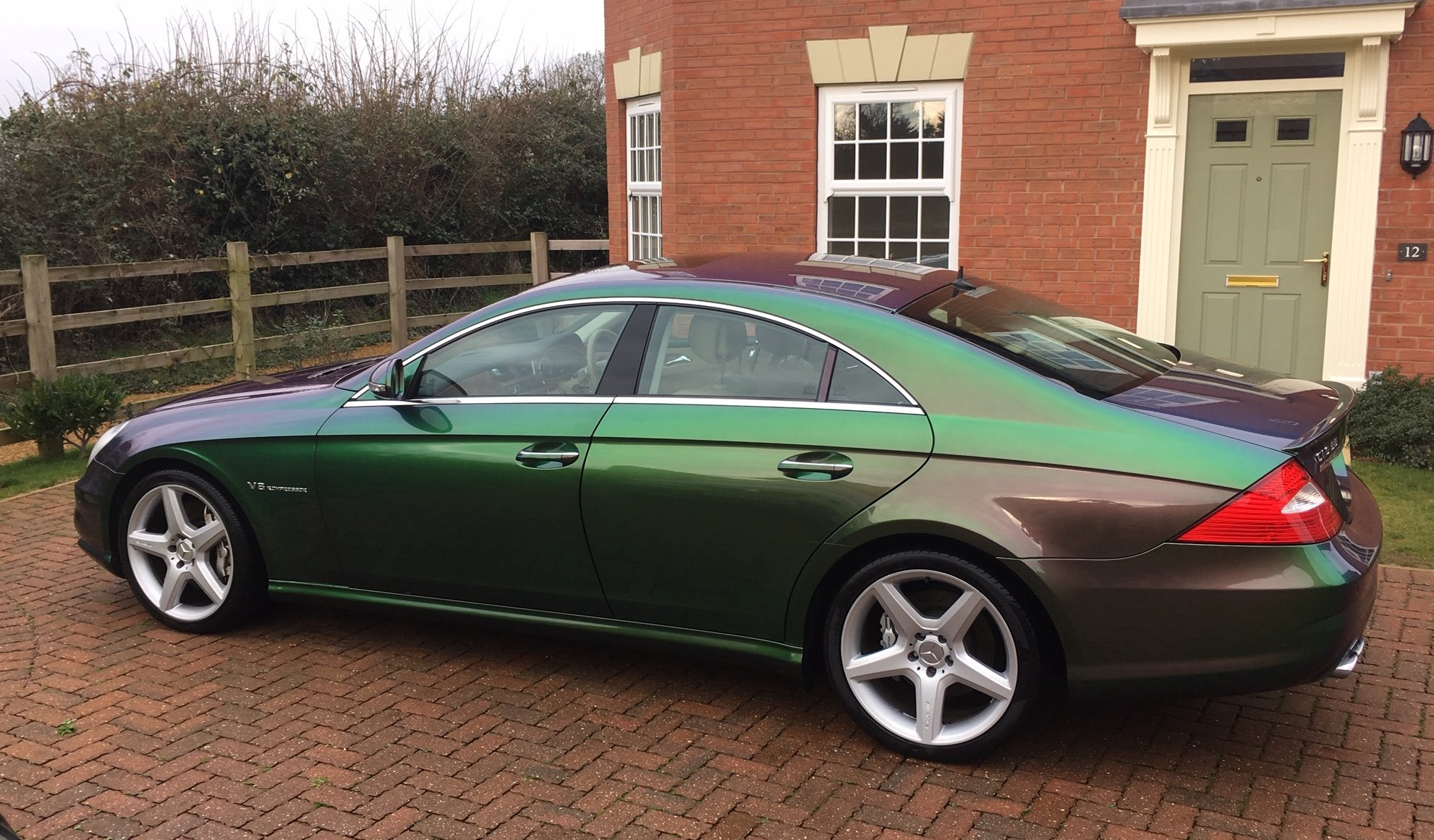 2006 Mercedes CLS 55 AMG V8 Supercharged 38k miles For Sale (picture 4 of 6)