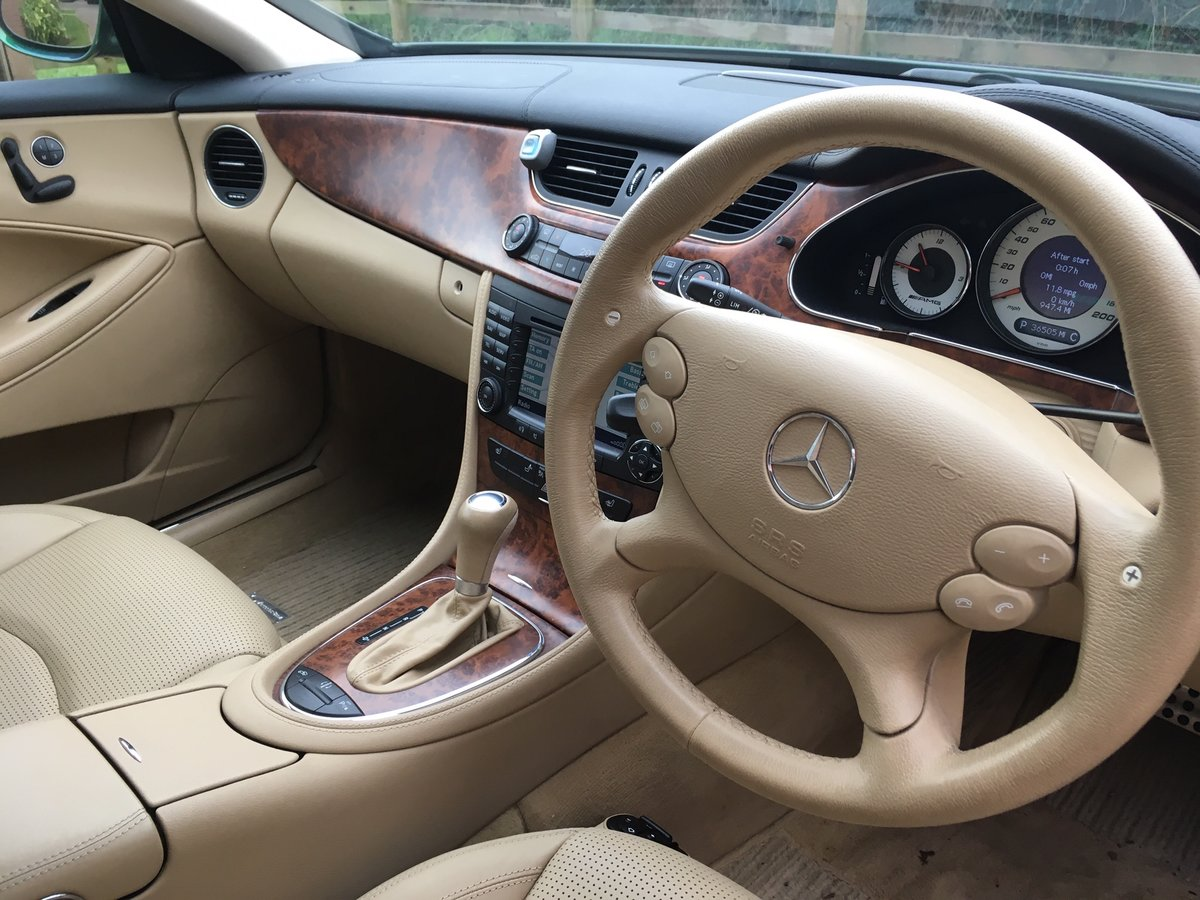 2006 Mercedes CLS 55 AMG V8 Supercharged 38k miles For Sale (picture 6 of 6)