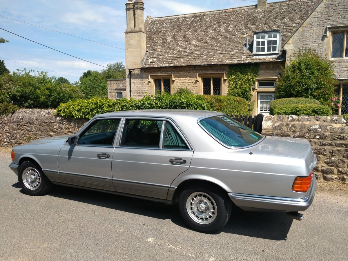 1983 Great spec & condition Mercedes 500SEL For Sale (picture 2 of 6)