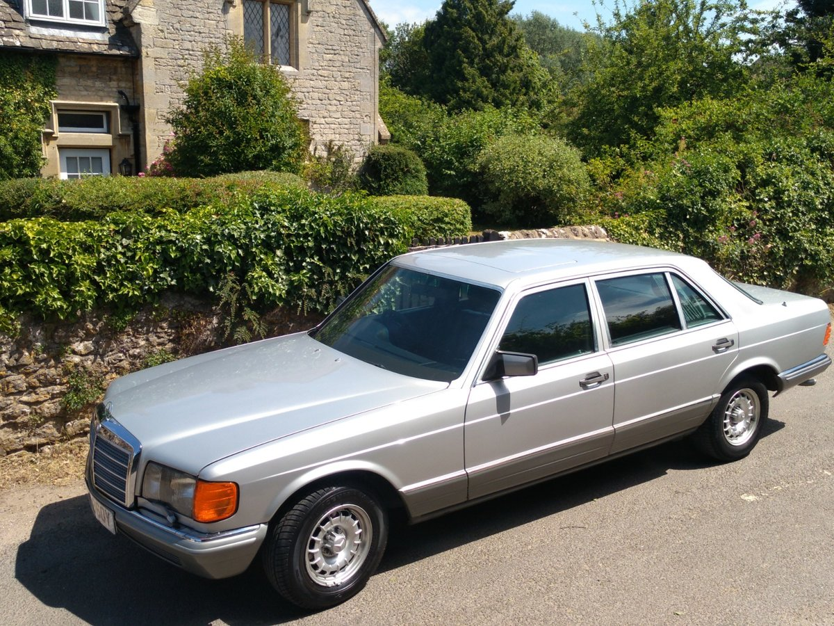 1983 Great spec & condition Mercedes 500SEL For Sale (picture 3 of 6)